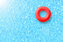 Red Swimming Pool Ring Float I...
