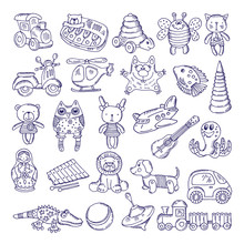 Vector Drawing Vintage Collect...