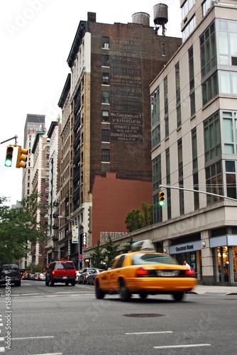 Door stickers New York Street of New york