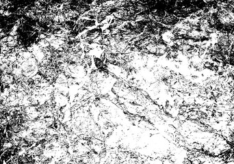 Fototapeta Struktura ściany Grunge Black and White Distress Texture . Scratch Texture . Dirty Texture .Background .