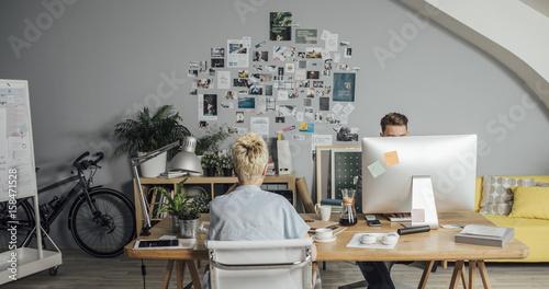 Fotografia  Young Designers at Work