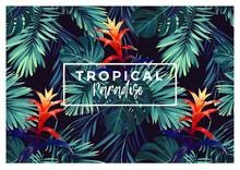Floral Horizontal Postcard Des...