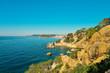 Coast of Lloret de Mar.