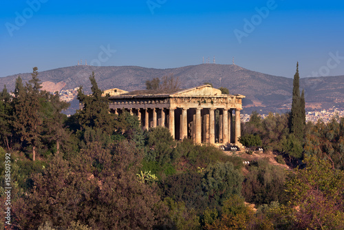 Photo  The Temple of Hephaestus in the Morning, Athens, Greece