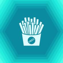 Vector Fries Icon