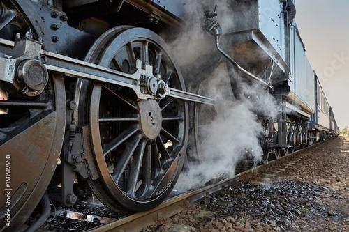 Fotomural Steam Locomotive