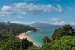 The bay of Kamala Beach in Phuket, Thailand.