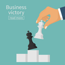 Business Victory Concept. Stra...