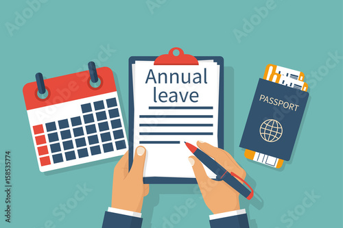 Fotografía  Annual leave