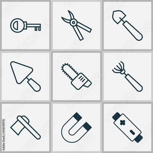 Instrument Icons Set  Collection Of Password, Putty