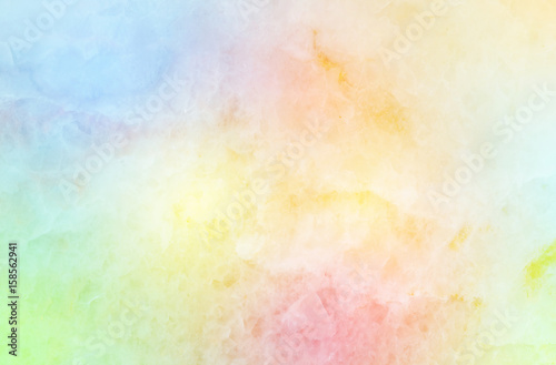 Closeup surface art tone abstract marble pattern at colorful