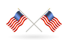 Cross United States Of America...