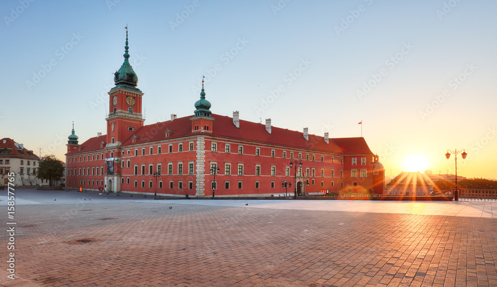 Fototapety, obrazy: Zamek Królewski w Warszawie