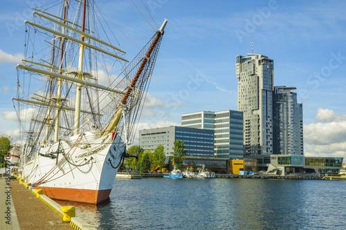 Ships in the Gdynia marina,Poland © Mike Mareen