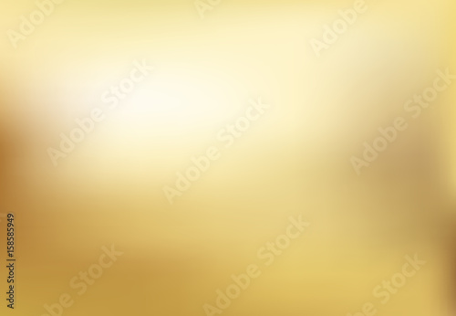 Vector gold blurred gradient style background Wallpaper Mural