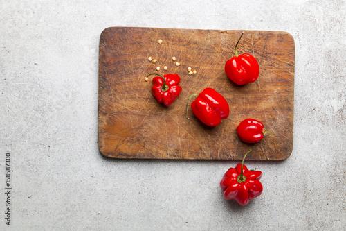 Fototapeta Czerwona papryka chili obraz