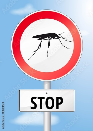 Fotografie, Obraz  Moskito Stop