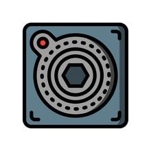 Retro Technology Icons - Atari...