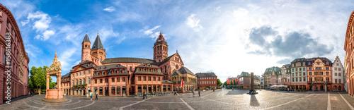 Mainz, Domplatz und Dom