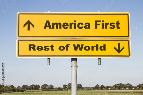 Photo  America and rest of world