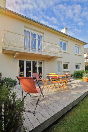 terrasse avec jardin maison en Bretagne – kaufen Sie dieses ...