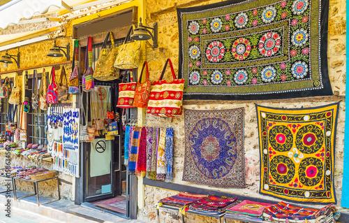 Poster Moyen-Orient The handmade souvenirs