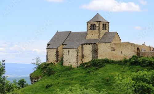 Papel de parede  église romane de Dauzat-sur-Vodable, 63