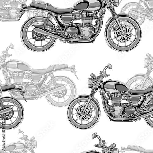 motocykl-bez-szwu-wzor-tlo-wektor-monochromatyczna-ilustracja-czarny-i-bialy-motocykle-z-wiele-szczegolami-na-bialym-tle