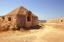 Wall And House In Firka Fortress