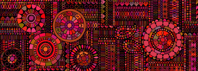 Abstract background similar to an ethnic carpet