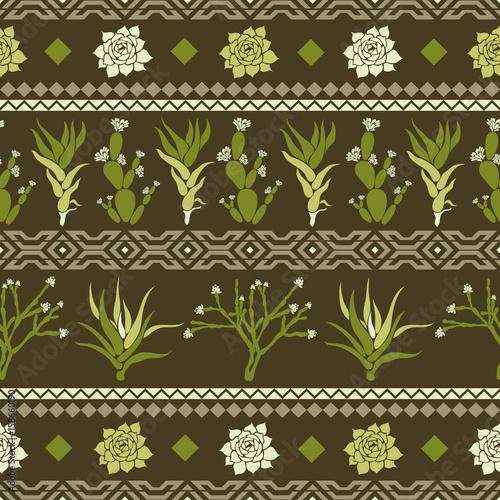 sempervivum-haworthia-opuntia-hatiora-bezszwowy-wzor-z-kaktusami-sukulentami-i-geometrycznymi-ksztaltami-w-postaci-rombu-trojboki