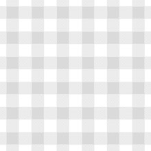 Seamless Abstract Illustration Of Grey (greyscale) Chechkered (gingham) Table Cloth, Vintage Or Retro Styled Traditional Pattern, Also For Napkin