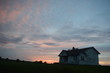 One Room School Sunset