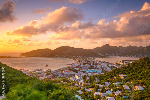 Foto op Plexiglas Caraïben Philipsburg, Sint Maarten