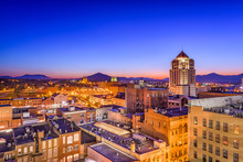 Roanoke, Virginia, USA Skyline.