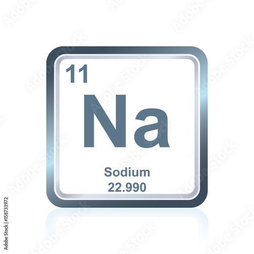 Chemical element sodium from the periodic table buy this stock chemical element sodium from the periodic table urtaz Choice Image
