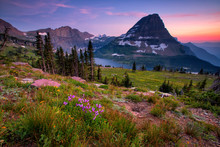 Hidden Lake Trail, Glacier National Park, Montana, USA