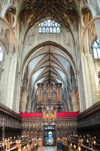 Inside Gloucester Cathedral Fototapet