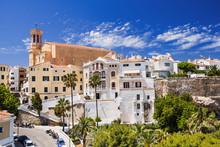 Beautiful View Of Mahon Town, Menorca Island, Spain