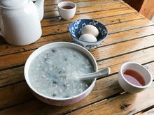 Served Local Chinese Breakfast...