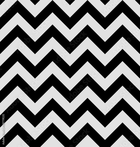 Valokuva  Zigzag pattern is in the twin peaks style
