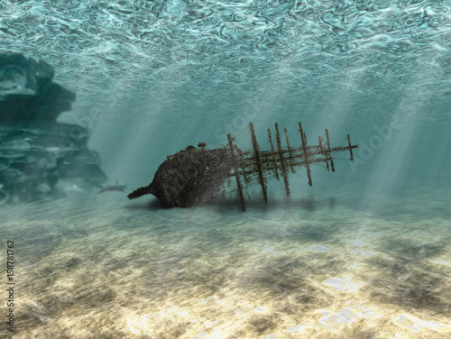 Photo sur Aluminium Naufrage Ship wreck