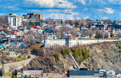 View of Levis town from Quebec City, Canada Poster Mural XXL
