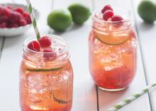 Raspberry Lime Iced Tea Or Coc...