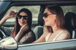 Girls in the car