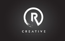 R Circular Letter Logo With Ci...