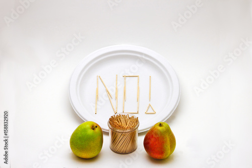 Fotografie, Obraz  Picky Eater - Pears, Small
