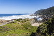 Hiking trail on coast of Tsitsikamma National Park, South Africa