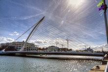 Samuel Beckett Bridge In Dubli...