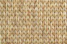 Meshwork Of Wooden Reed Wicker...